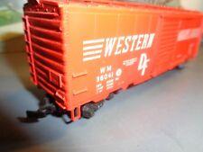 HO SCALE WESTERN  MARYLAND WM 36041 SLIDING DOOR BOX CAR        5-68-15