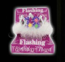 18th Lampeggiante Compleanno Tiara Festa Regalo Ragazze Notte Fuori