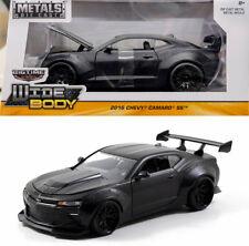 2016 Chevy Camaro SS Wide Body Schwarz Chevrolet Black 1:24 Jada Toys 98139