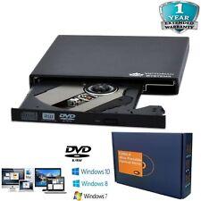 Esterno USB 2.0 DVD Rw CD Rw Masterizzatore DVD Drive Bruciatore Scrittore Lettore Laptop PC