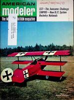 Vintage American Modeler Magazine Jan 1967 SST-The Awesome Challenge m1016