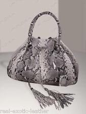 Python Hobo Style Snakeskin Bag Large  Depth 7, Height 12.5, Length 17