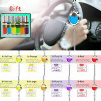 Car Air Freshener Perfume Bottle Diffuser Pendant Hanging DIY with Gift