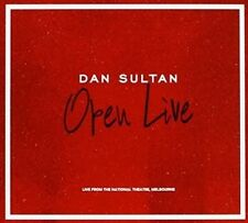 DAN SULTAN Open Live From The National Theatre Melbourne CD NEW Gatefold Sleeve