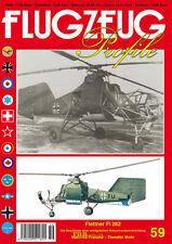 Franzke Flettner Fl 282 Hubschrauber Helikopter Modellbau Flugzeug Profile 59