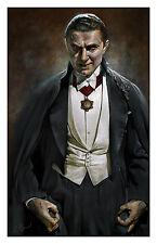 Dracula Bela Lugosi Horror Universal Monster Fine Art Print