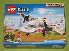 Lego City 60116 Ambulance Plane New