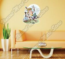 """Hippie Smoking Narguile Love Peace Gift Wall Sticker Room Interior Decor 20""""X25"""""""