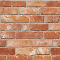 Brick Contact Adhesive Wallpaper Home Decorative Paper Sticker Wallcovering 118""