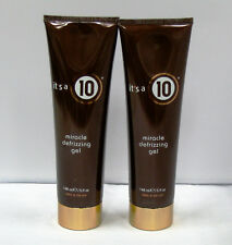 2 X It's a 10 Miracle Defrizzing Gel 5 oz Duo Set Gelled Oil Formula Its