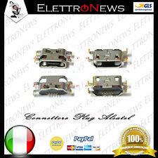 Connettore di ricarica plug in Spinotto Alcatel one touch 7041X 7041D 7040 7040N