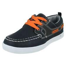 Chaussures bleues en synthétique à lacets pour garçon de 2 à 16 ans