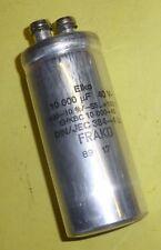 Kondensator Elko Frako  10 000µF 40  Volt DC