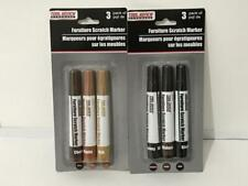 FURNITURE SCRATCH MARKERS 3 PACK CHERRY OAK MAPLE ~ ** INCLUDES USA S&H **