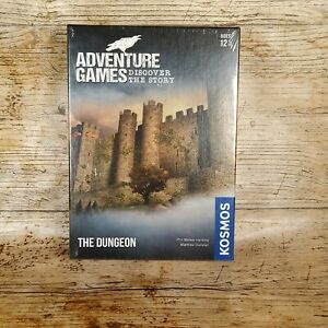 Kosmos Adventure Games The Dungeon Escape Room Game Puzzle Age 12 & Up