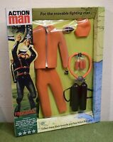 VINTAGE ACTION MAN 40th CARDED UNDERWATER EXPLORER ORANGE FROGMAN 1/6 SCALE