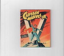 CAPTAIN MARVEL JR MIGHTY MIDGET #11 Gold Age WWII era mini-comic! Grade 8.0