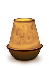 Lladro ''New Baby'' Lithophane Rechargeable Led Bnib #17384 Votive Save$ F/Sh