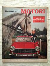 Il Giorno Motori n. 20 anno 3 - 1500 Fiat coupé Pininfarina
