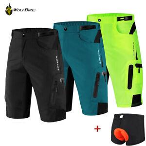 Cycling Shorts Men Motorcycle Bike MTB Padded Sports Short Pants Gifts