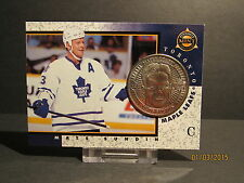 1997-98 Pinnacle Mint Coins Nickel Silver #10 Mats Sundin
