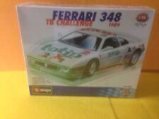 Burago Kit  1/24 Ferrari 348 Totip Nuova Sigillata Rarissima !!!!ORIGINALE !!
