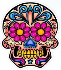 #5 Sugar Skull Sticker Day of the Dead Decal Rockabilly Rock Vintage