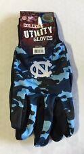 North Carolina Tar Heels Camouflage Sports Utility Gloves Work garden NEW CAMO