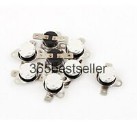10 Pcs KSD301 Normal Open N.O 75 Degree Temperature Switch Thermostat