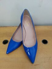 $328 Kate spade Melanie blue heels, pumps, shoes SIZE 7