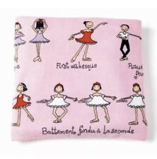 Beautiful soft girls beach towel Ballet Design