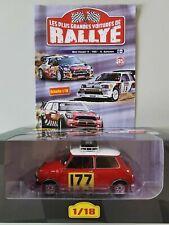 1/18 Mini Cooper # 177 Rally Monte Carlo 1967 R.Aaltonen 1er Ixo Altaya 85 Neuf