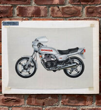 1979 Honda Motorcycle Ad Art From Michael Salisbury Collection Wells Rich Green