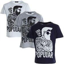 Jungen-Poloshirts aus 100% Baumwolle mit Motiv