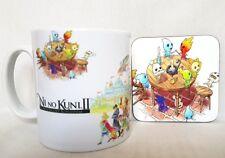 Ni No Kuni 2 II Revenant Kingdom - Coffee MUG CUP + Wood Coaster - Anime - JRPG