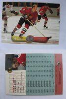 2001-02 Fleer Legacy #2 Hull Bobby 1192/2002 SP  blackhawks SSP
