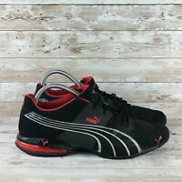 PUMA Cell Surin Mens Size 12 Black Red Athletic Training Walking Running Shoes