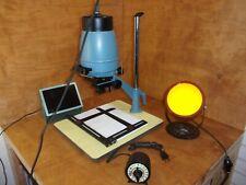 Vintage Lentar L 35 Photo Enlarger, Kodak & Premier Safelight, Glow In The Dark