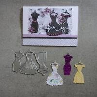 Dies Die Cut Mold Metal Cutting Dies Cut Lady Dress Scrapbook Paper Card Craft