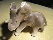 Kleiner Keramik Elefant Made in Germany 50er Jahre TOP