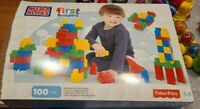 Fisher Price Mega Bloks First Builders Blocks 100 Pieces, Excellent Condition!