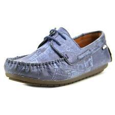 Scarpe blu per bambini dai 2 ai 16 anni pelle , Numero 35