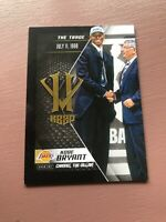 2015-16 Panini - Kobe Herovillain: Kobe Bryant - Villian The Trade