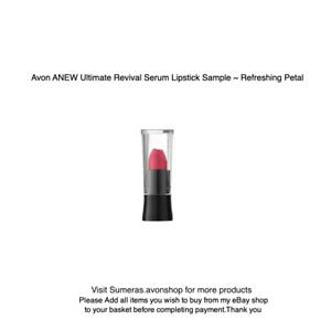 AVON ANEW Ultimate Revival Serum Lipstick Sample Size Refreshing Petal Free P&P