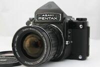 [ Exc+++++ ] Pentax 6x7 67 Eye Level w/ SMC Takumar 75mm f/4.5 from Japan A590