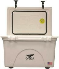 NEW ORCA ORCW040 WHITE COLORED 40 QUART INSULATED ICE CHEST COOLER USA 8555740