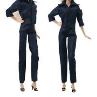 1 PCS Fashion Outfit Black Jumpsuit For 11 in. Doll Clothes Super Z0Y7
