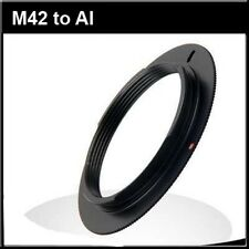 M42 lens to Nikon AI AIS Mount adapter for D810 D800 D7100 D7000 D600 D610 D300