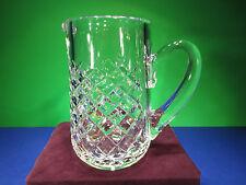 "Rare Waterford ""Alana"" Handmade Crystal Glass Small Pitcher"