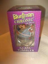 Bluntman and Chronic Glass Tumbler...new in box. THE MOVIE -ONLY at MOOBY'S